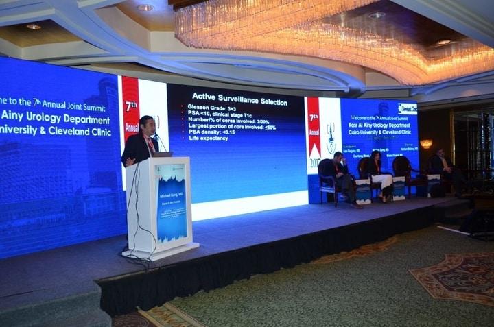 فعاليات مؤتمر الطبي للمسالك البولية